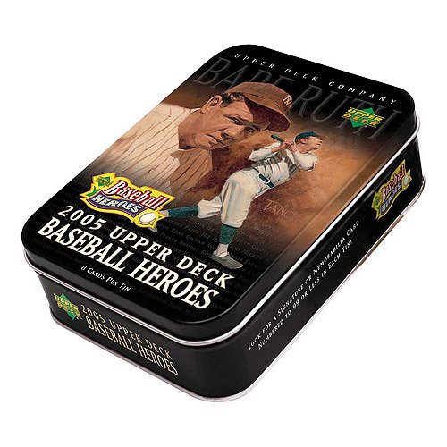 2005 Upper Deck Heroes Baseball Card Unopened Hobby Box