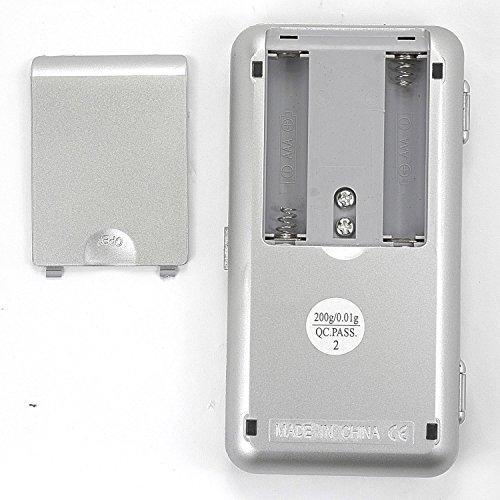 Mini Balance de poche précision numérique digitale écran LCD rétro-éclairé
