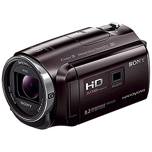 SONY HDビデオカメラ Handycam HDR-PJ670 ボルドーブラウン 光学30倍 HDR-PJ670-T