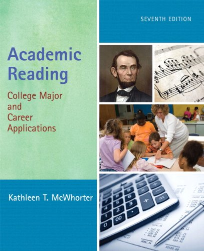Academic Reading: College Major and Career Applications...