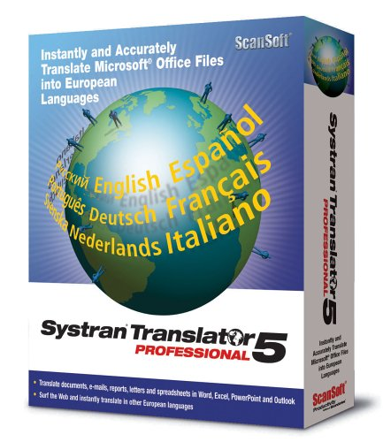 Systran Translator Professional v5