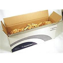 FastCap White Polycarbonate Kolbe Korner -500 Bulk Pack