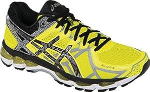 ASICS Men's Gel-Kayano 21 Lite-Show Running Shoe,Yellow/Lite/Black,15 M US