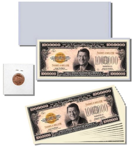 "13pc. Novelty Money Gift Set featuring ""Thanks a Million"" Million Dollar Bill - 1"