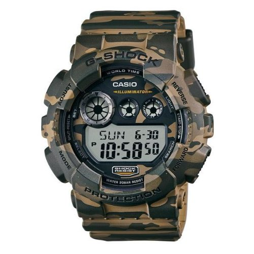 Casio Men's GD-120CM-5CR G-Shock Digital Display Quartz Multi-Color Watch