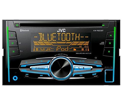 JVC-KW-R920BT-Doppel-DIN-USBCD-Receiver-Vorder-AUX-Eingang-Bluetooth-schwarz