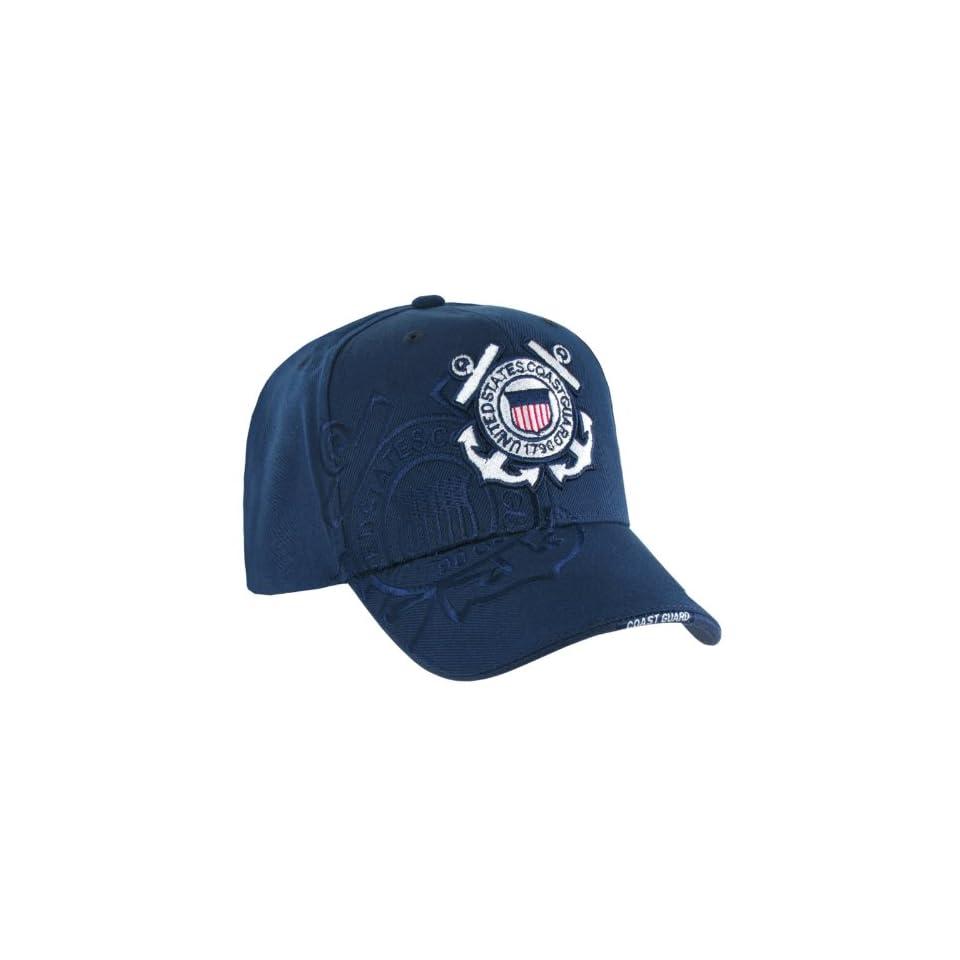 RAPID DOMINANCE Shadow Military Baseball Caps (Adjustable , US Coast Guard)