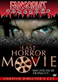 The Last Horror Movie (Unrated Edition) cover.