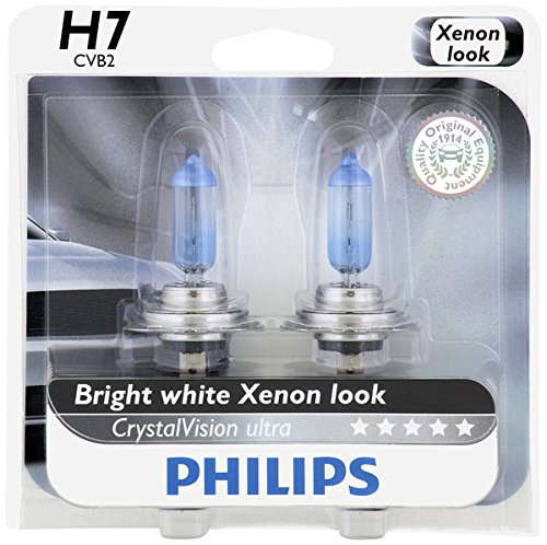 Philips H7 CrystalVision Ultra Upgrade Headlight Bulb, 2 Pack (Honda Cbr1000rr 2012 compare prices)