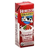 Horizon Organic Low Fat Milk, Strawberry, 8-Ounce Aseptic Cartons (Pack of 18)