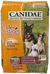 CANIDAE All Life Stages Dog Food Made With Lamb Meal & Rice, 30 lbs