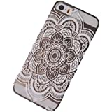 Acefast INC Plastic Case Cover for Iphone 5 5s 5c Henna Full Mandala Floral Dream Catcher (For iPhone 5 5S) (white)