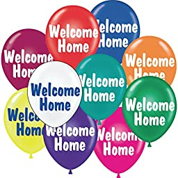 Welcome Balloons, 17, Package of 25