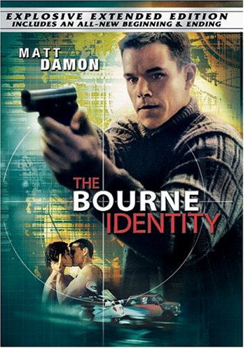 Cover art for  The Bourne Identity (Widescreen Extended Edition)