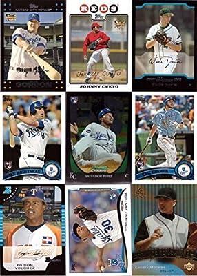 2015 Kansas City Royals Baseball Rookie Card Team Set - 22 Rookie Cards including Eric Hosmer, Salvador Perez, Alex Gordon, Mike Moustakas, Johnny Cueto, Wade Davis and more! Bowman, Topps, Upper Deck.