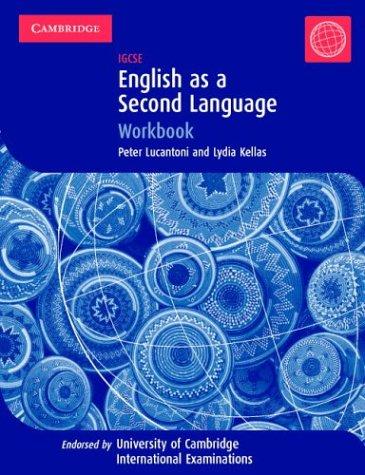 English as a Second Language IGCSE Workbook (Cambridge International IGCSE)