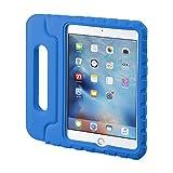 サンワサプライ iPad mini4衝撃吸収ケース ブルー PDA-IPAD75BL