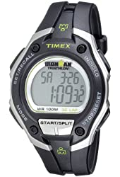 """Timex Men's T5K412 """"Ironman Traditional"""" 30-Lap Oversize Watch with Black Resin Strap"""