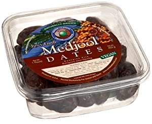 United With Earth Medjool Dates, 16-Ounce Containers (Pack of 4)