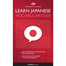 Learn Japanese - Word Power 2001 Audiobook by  Innovative Language Learning Narrated by  Innovative Language Learning