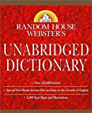 Random House Webster's Unabridged Dictionary: Indexed (Book Only Edition)