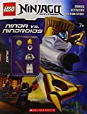 LEGO Ninjago: Ninja vs. Ninroid Activity Book (with minifigure)