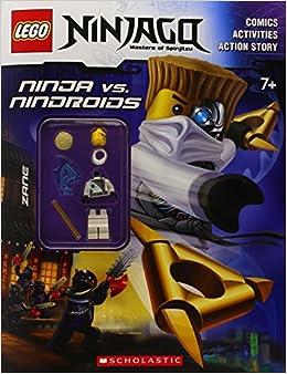 LEGO Ninjago: Ninja Vs. Nindroid Activity Book (with Minifigure