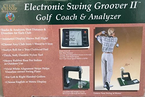 Dennco Club Champ Electronic Golf Swing Groover II Golf & Coach Analyzer (Electronic Swing Groover Ii compare prices)