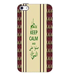 PrintDhaba Quote D-2721 Back Case Cover for APPLE IPHONE 5S (Multi-Coloured)