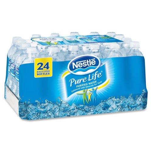 0.5 Liter Bottled Water front-209457
