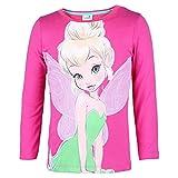 DISNEY Niñas Campanita Camisa, rosa, talla 98, 3 años
