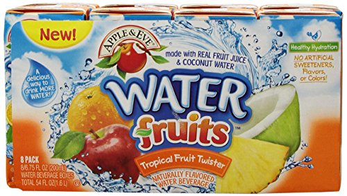 Apple & Eve Water Fruit Juice, Tropical Fruit Twister 6.75 Fl Oz, 8 Count (Pack Of 5) front-1071737