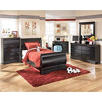 Huey Vineyard Youth Sleigh Bedroom Set Full