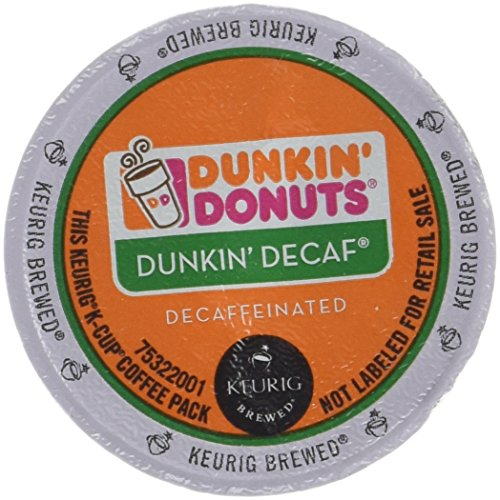 Dunkin Donuts Decaf Coffee K-Cups For Keurig K Cup Brewers (32 count) (Keurig Dunkin Donuts Decaf compare prices)