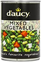 D'aucy Mixed Vegetables 400 g (Pack of 12)