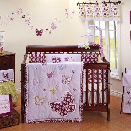 Purple baby bedding totally kids totally bedrooms kids bedroom