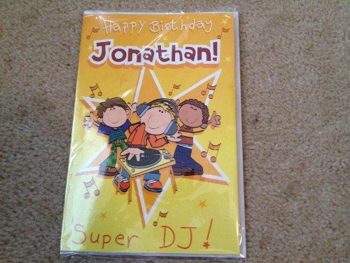 Happy Birthday Jonathan - Singing Birthday Card