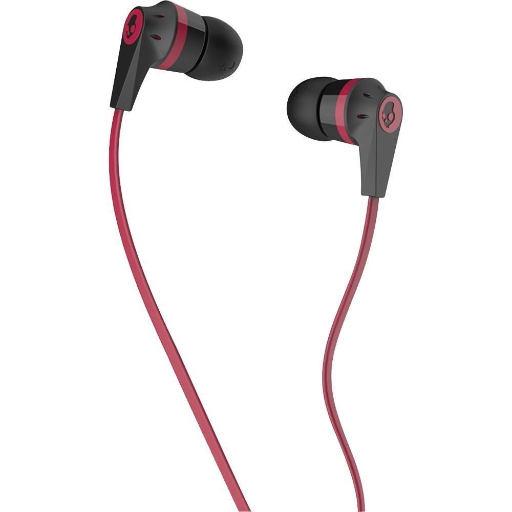 Skullcandy Ink&d 2.0 - Auriculares in-ear (control remoto integrado, reducción de ruido), negro y rojo  Electrónica más información y revisión