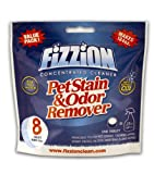 Fizzion Pet Stain & Odor Remover Refill Tablets (8 TABLETS) Makes 184oz