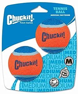 Chuckit! Tennis Ball Medium 2.5-inch, 2 pack
