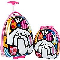 Heys America Britto Egg Shape Kids Luggage Set with Backpack