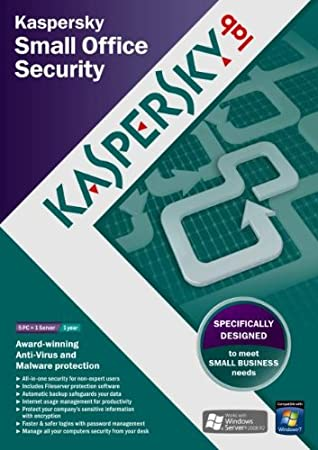 Kaspersky Small Office Secuirty v2 Starter Kit, 5 Users, 1 Server, 1 year licence (PC)