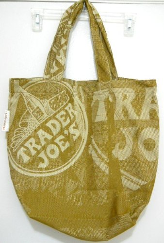 Trader Joe's Canvas Weave Tote Shopping Grocery