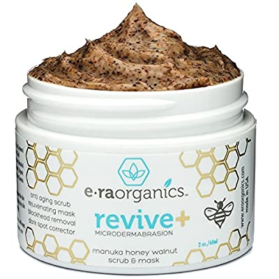 Era Organics Microdermabrasion Facial Exfoliator & Anti Aging Face Mask