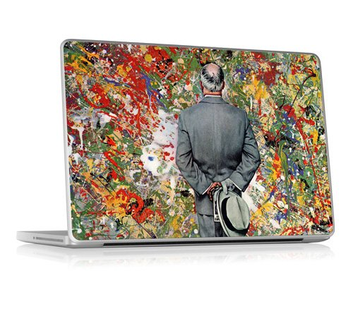 "Designer Zierschutzfolie Aufkleber für Apple Macbook Pro 13"" Unibody (Pro, Air, MacBook) - Art Connoisseur - Gelaskins"