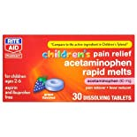 Rite Aid Children's Grape Acetaminophen Tablets 30ct