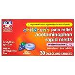 Rite Aid Children's Grape Acetaminophen Tablets 30ct