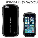iphone6 Plus ケース 5.5 インチ inch カバー iface First Class ハード タイプ 正規品 ストラップホール付 (ブラック)