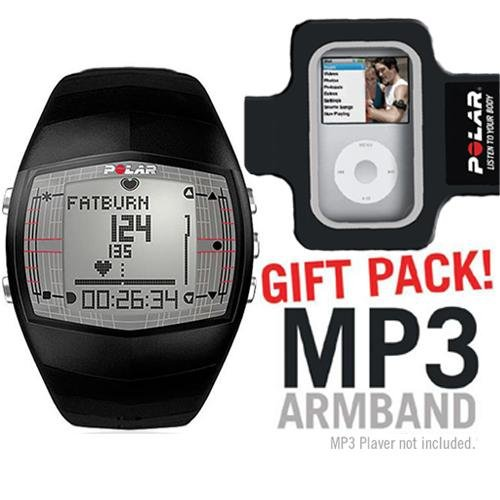 Cheap Polar 99039724 FT40 Heart Rate Monitor Male Black with MP3 Armband (B003K233WC)