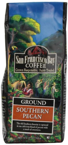 San Francisco Bay Coffee Ground Southern Pecan Coffee, 12-Ounce Bag